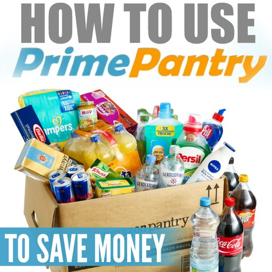 How to use Amazon Prime Pantry to save money. With these tips you can use Amazon pantry to save money and time each month.
