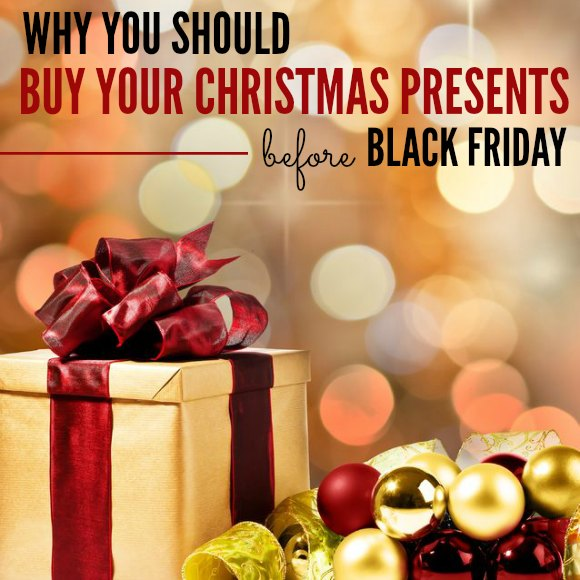 Why you Should Buy Christmas Gifts before Black Friday Deals