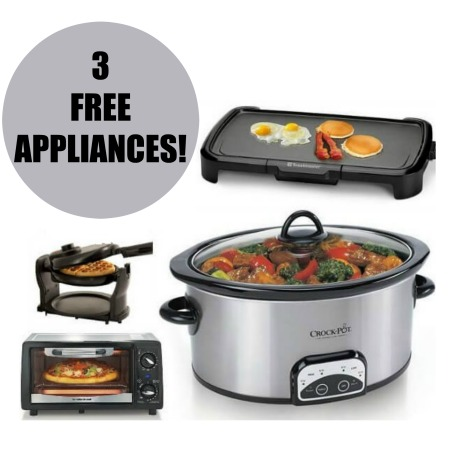 Kohl S 3 Free Kitchen Appliances After Rebate Coupon