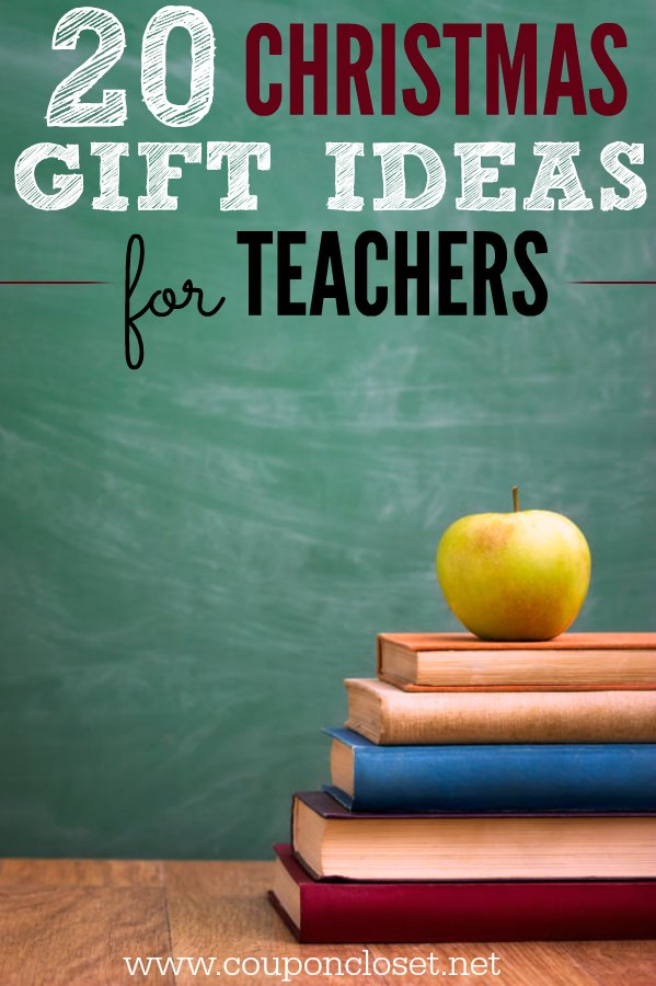 Christmas Gift Ideas for Teachers - 20 Gifts they will love