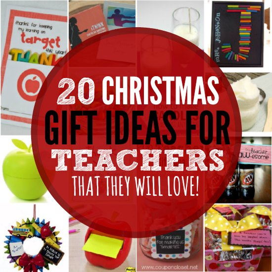 20 Christmas gift ideas for teachers. These gifts for teachers are frugal &  fun. - Christmas Gift Ideas For Teachers - 20 Gifts They Will Love