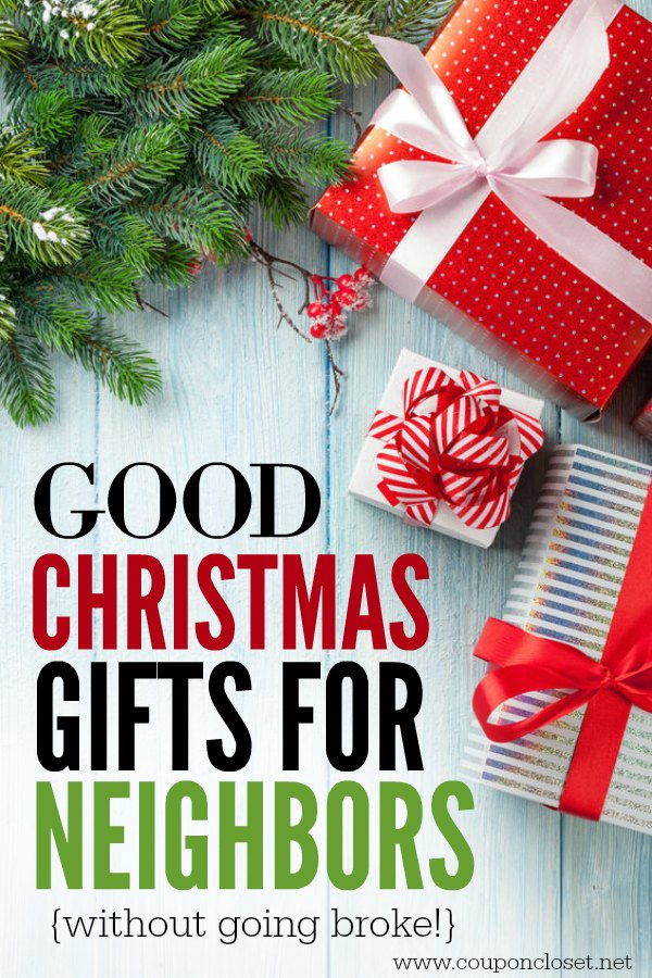 Here are good Christmas gifts for neighbors. They will love these easy neighbor  christmas gifts - Christmas Gifts For Neighbors That They Will Love - One Crazy Mom