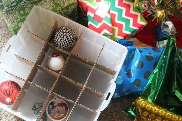 7 creative ways to store Christmas decorations on a budget. You don't have to spend a lot to store christmas decorations properly