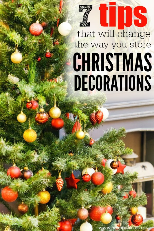 7 Creative Ways To Store Christmas Decorations One Crazy Mom