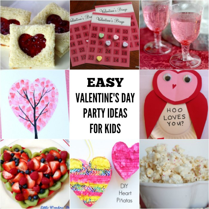 20 Valentines Day Party Ideas For Kids One Crazy Mom