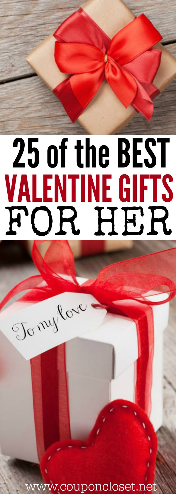 25 valentine 39 s day gifts for her on a budget one crazy mom Top ten valentine gifts for her