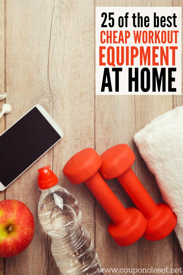 Here are the best workout equipment for home. We have found 25 of the best Cheap at home workout equipment to help you get in shape for less.