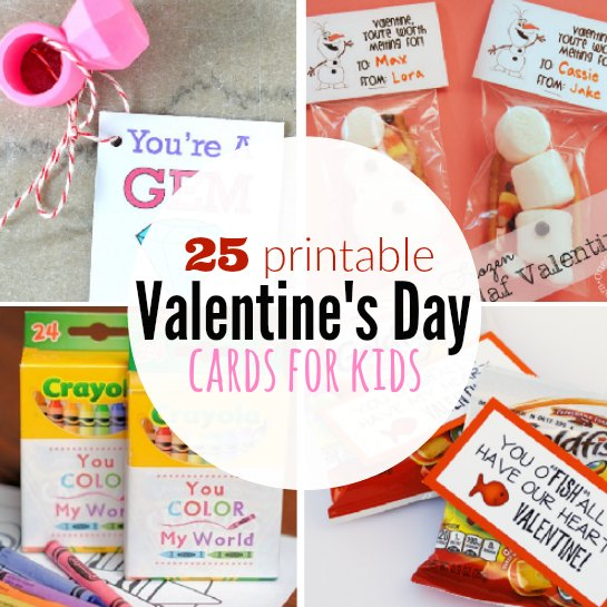 printable valentine s day cards for kids free valentine cards