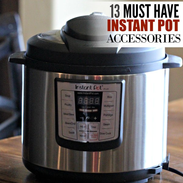 Here are the best Instant Pot Accessories - 13 very useful accessories for the Instant pot to help you make the best instant pot recipes.