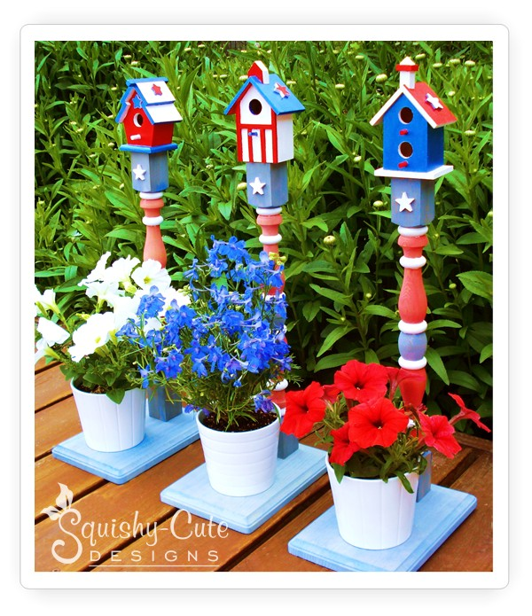 Here are 13 quick and easy Patriotic Decorations. These 4th of July Decorations won't cost you a fortune but will create a patriotic home in minutes!