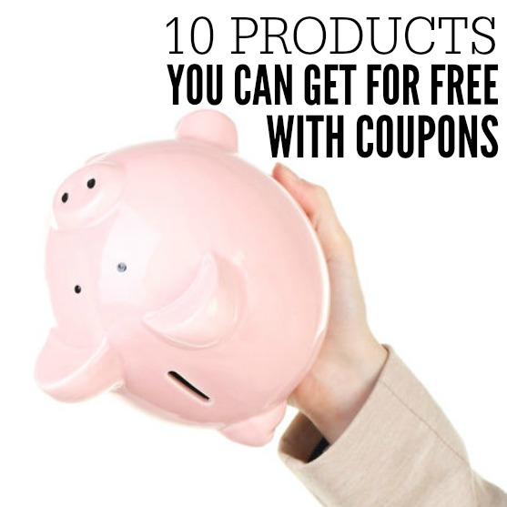 Check out what you can get free with coupons. 10 things you can always get free with coupons. Never pay for these items again!