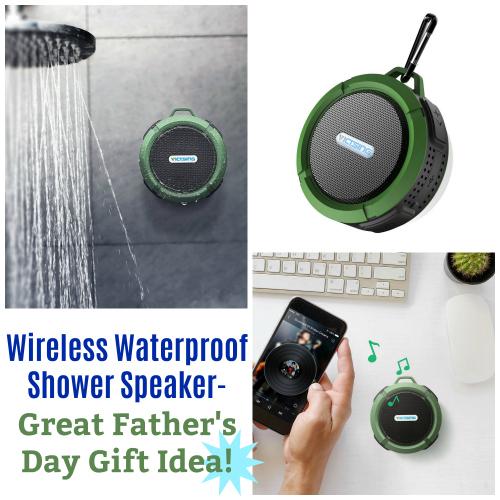 Wireless Waterproof Shower Speaker Only Reg Great Father 39 S Day Gift Idea