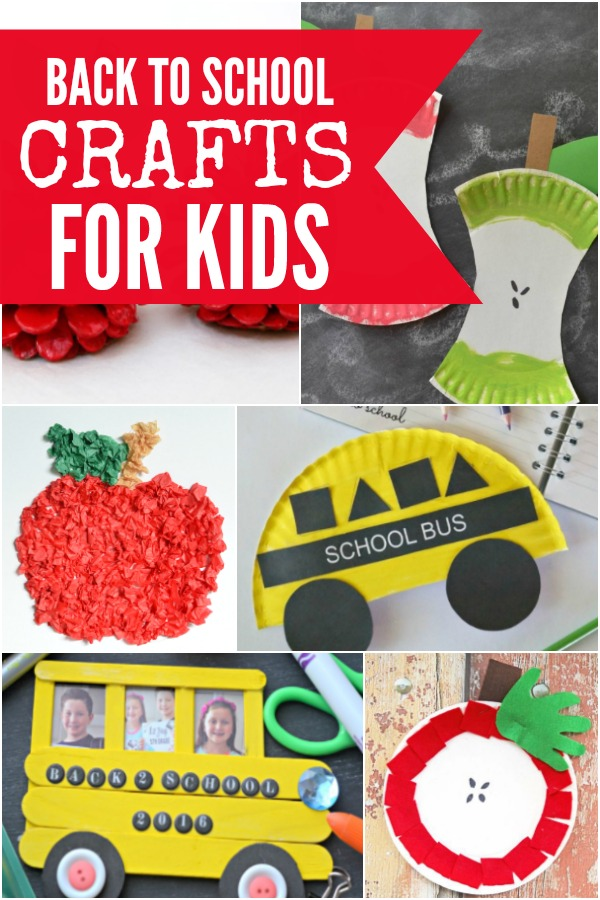 Fun Crafts That You Can Find At School