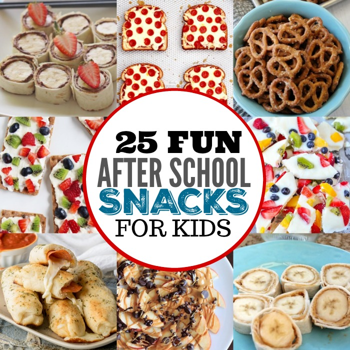 After school snacks for kids 25 fun after school snacks for Easy after school snacks for kids to make