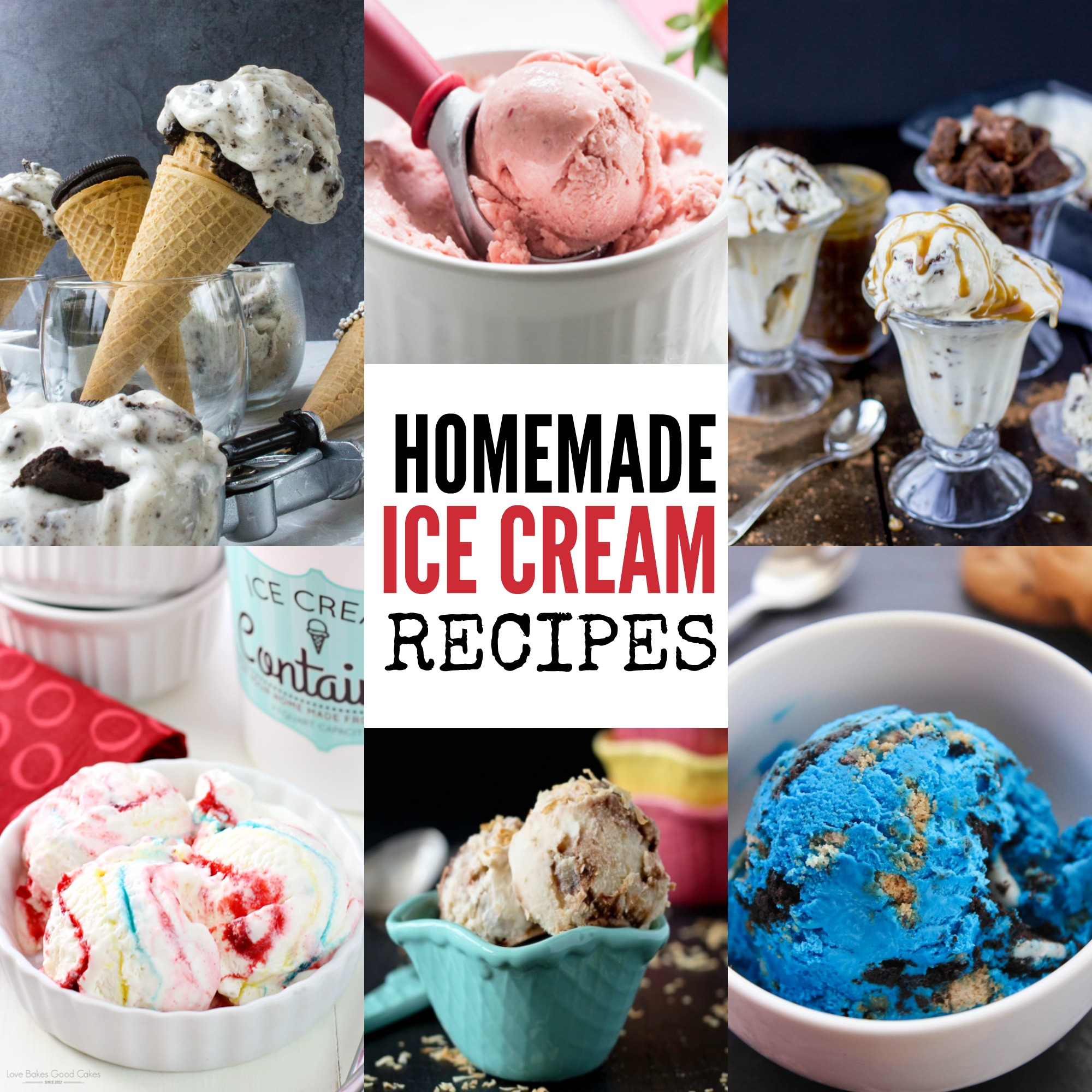 Recipes For Homemade Ice Cream- 30 Homemade Ice Cream Recipes