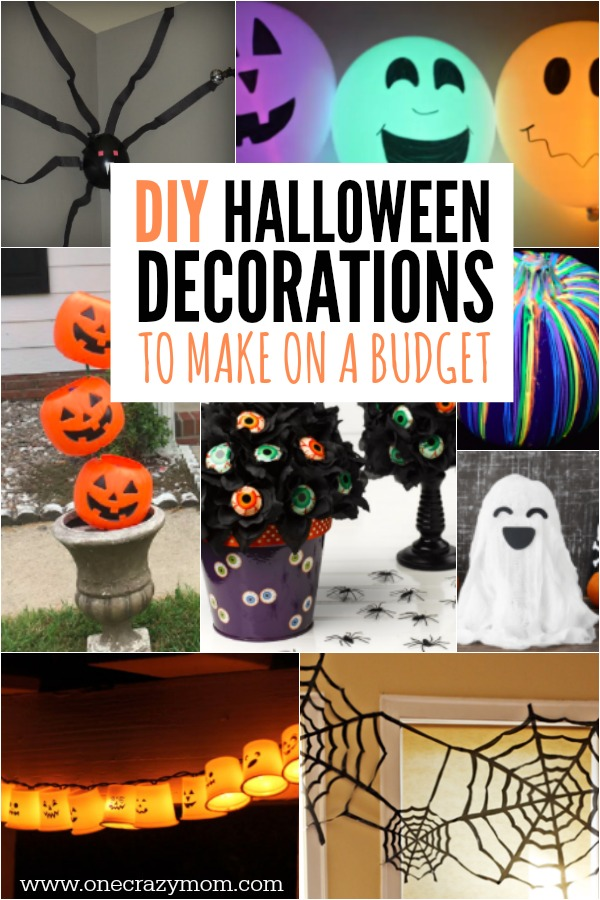 Diy halloween decoration ideas 25 budget friendly ideas for Halloween decorations you can make at home
