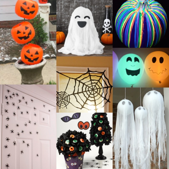 Check out these DIY Halloween decoration ideas. 25 halloween decorations to make that are creative but won't break the bank.