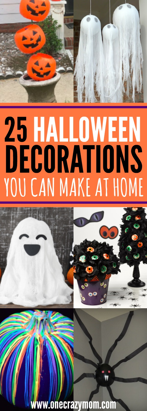 halloween decorations that you can make at home